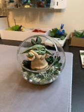 Baby Yoda Glass artificial Terrarium