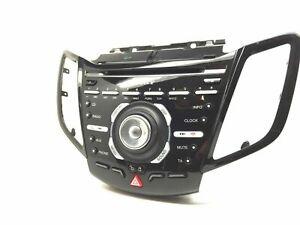 Ford Fiesta Radio Stereo CD player Head Unit + Console Trim E1BT-18C815-GK