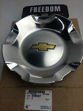 GM 9596007 2007-2014 TAHOE SUBURBAN  CHEVROLET POLISHED WHEEL CENTER CAP 20""