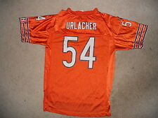 Chicago Bears Nfl Football Jersey Brian Urlacher Reebok Youth Large Orange Mlb