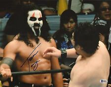 Tama Tonga Signed 11x14 Photo BAS COA New Japan Pro Wrestling Bullet Club NJPW 7