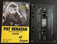 Seven The Hard Way ~ PAT BENATAR Cassette Tape