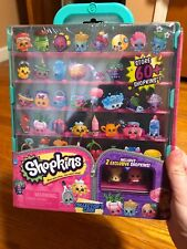 Shopkins Teal Unopened Collectors Case With 2 Exclusive shopkins