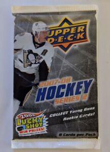2007-08 Upper Deck Series 2 Hockey Cards Pack Toews? Rask? *Sealed New