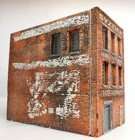 Downtown Deco HO Scale Building Kit Syzdek mfg. + Bonus 60 Piece Casting Set