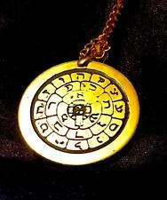 TALISMAN OF THE ROSE CROSS SOLID BRASS Occult Magic Amulet Magick Golden Dawn