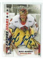 Mike Murphy Signed 2007/08 Between The Pipes Future Stars Card #40