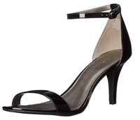 Bandolino Women's Madia Dress Sandal, Black Patent, 7.5 M US