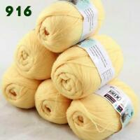 Sale 6 Skeins x50g LACE Soft Acrylic Wool Cashmere Shawls Hand Knitting Yarn 16