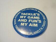New listing Vintage fishing lure pin Texas