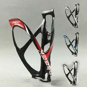 3K Carbon Fiber Bottle Holder MTB Mountain Road Bike Bicycle Water Bottle Cage