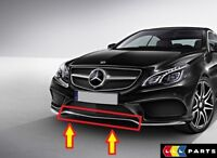 NEW GENUINE MERCEDES BENZ MB E CLASS W207 AMG FRONT BUMPER CENTER CHROME MOLDING