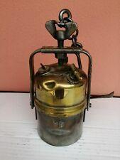 Antica torcia da minatore Lampada frontale VINTAGE OMA197