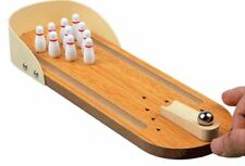 Table Top Bowling Game Set Classic Tabletop Game Night Fun with Family & Friends