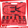9PCS Hose Clamp Clip Remover Pliers Kit Swivel Jaw Clic-R Collar Pliers Tool US