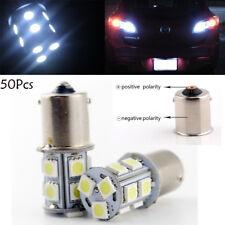 50x 13SMD 1156 5050 LED Car Truck Parking Backup Reverse Light Bulbs White Lamp