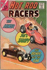 Hot Rod Racers Comic Book Vol. 1 No. 2 February 1966 Drag Race Racing Comics