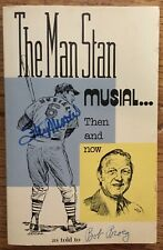 "STAN MUSIAL Signed/Auto ""The Man Stan"" BOOK! 1977 PB/ JSA COA! Cardinals/HOF"