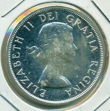 1963 CANADA SILVER DOLLAR, CHOICE PROOFLIKE BRILLIANT UNCIRCULATED, GREAT PRICE!