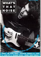 WHAT's THAT NOISE  8 / 1991 (Silos, Danzig, Universal Congress of
