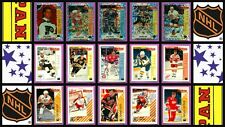 1992 Panini NHL Hockey Stickers Complete Set of 330 Lidstrom Lindros Bure Rookie