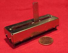 Noble Slide Potentiometer, 4 Circuits, 50K Linear Taper Pot, 40K B50KOHM4X AW CA