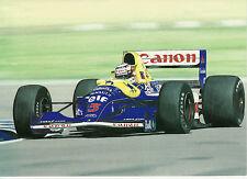 Williams FW14B Renault Motor 1992 Nigel Mansell F1 una tarjeta de felicitación de la legislación de tráfico Arte