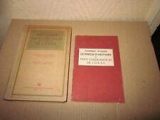 Histoire Parti Communiste bolchévik URSS  1949 + guide PCF pour l'étudier 1959