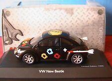 VW VOLKSWAGEN NEW BEETLE DIE LUDOLFS SCHUCO 1/43 BLACK