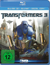 Blu-ray *  TRANSFORMERS 3 - DARK OF THE MOON (3D + 2D COMBO) # NEU OVP