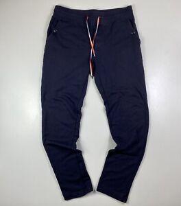 Moncler Slim Fit Blue Joggers Size M