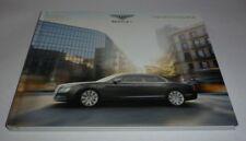 Bentley Flying Spur Hardback Brochure (2014)