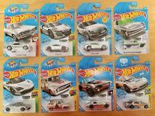 Hot Wheels ~ 2019 ~ ZAMAC ~ Walmart Ex ~ Mclaren ~AUDI~Acura ~CHEVY~ VW~Lot of 8