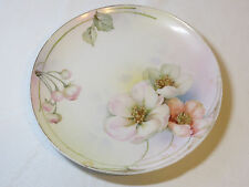 Prussia Royal Ruoolstadt Decorative plate with poppies flower art collector #%