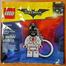 LEGO 5004928 Batman Movie : Kiss Kiss Tuxedo Batman Key ring, Keyring, Brand new