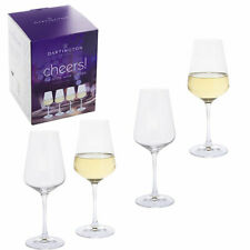 set of  4 Glasses Dartington Drinking glass liquor goblets, 250 ml party stem