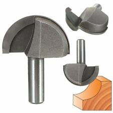 """1/2'' Shank 2"""" Woodworking Round Nose Cove Core Box Router Bit Cutter Tool [NEW]"""