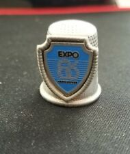 Expo 86 Thimble 1984 Worlds Fair Vancouver British Columbia Canada BC