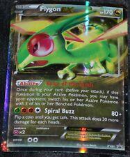 Holo Foil Flygon EX # XY61 XY Black Star Promo Set Pokemon Trading Cards HP