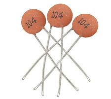 Durable 100pcs/bag Ceramic Disc Capacitors 50V 100nF 0.1uF 104pF Hot 3TY