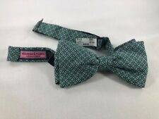 """Boat Holiday Party Vineyard Vines /""""Christmas Trees/"""" Neck Tie Stars Beach"""