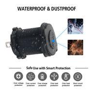 12V Car Boat Motorcycle Cigarette Lighter Socket Power Plug Outlet Waterproof