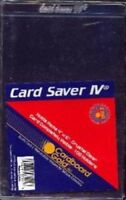 200 CBG Card Saver IV Semi Rigid 4 x 6 Photo / Picture / Postcard Holders 4x6