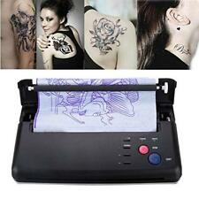 Black Tattoo Transfer Copier Printer Machine Thermal Stencil Paper Maker from US