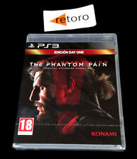 METAL GEAR SOLID V 5 THE PHANTOM PAIN Sony Playstation 3 PS3 Play PAL-España New