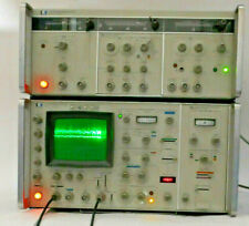 Hp 3711A And 3712A If/Bb Microwave Link Analyzer System - Tested, Works Well -
