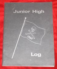 RARE VINTAGE 1965 West Carrollton Jr High School Log WC Annual Yearbook Ohio