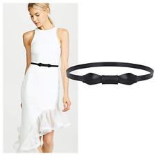 JASGOOD Women PU Leather Skinny Belt for Dress Adjustable Thin Waist Belts 2021