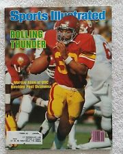 Sports Illustrated October 5, 1981; Rolling Thunder, Marcus Allen Rumbles-RARE!