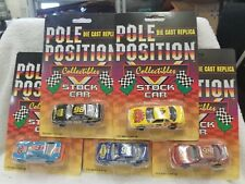 POLE POSITION DIE CAST STOCK CAR # 7 MAC TOOLS & MORE. LOT OF 5. (1C)